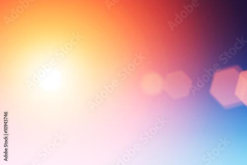 Obraz na plátne Abstract flare background