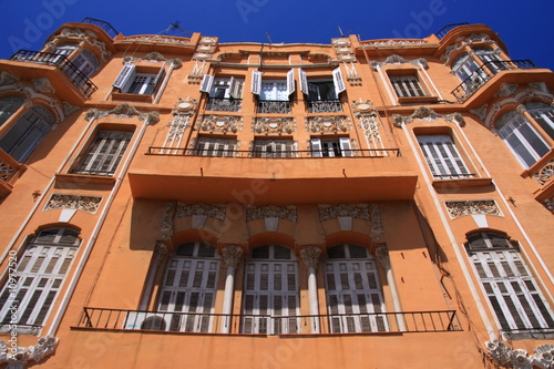 Transmediterranea modernist house in Melilla, Spain