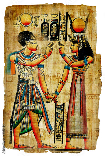 Wallpaper Mural ancient egyptian papyrus