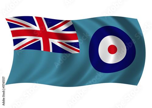 Obraz na plátně Royal Air Force Ensign
