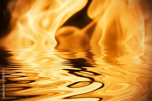 Obraz na plátně Fire