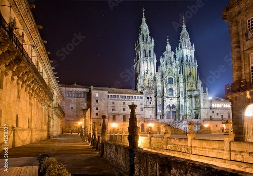 Canvas Print Santiago de Compostela