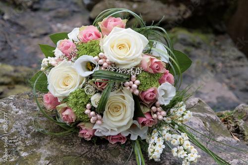 Canvas Print Le bouquet de la mariée