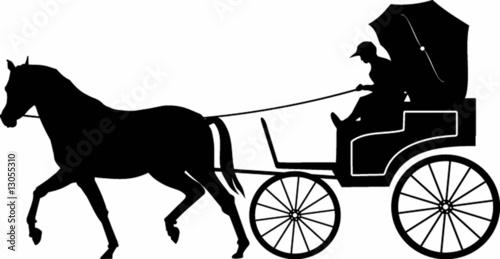 Obraz na płótnie luxury carriage