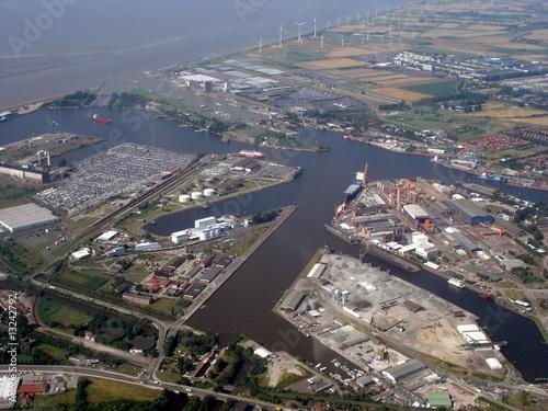 Fotografiet Hafen Emden