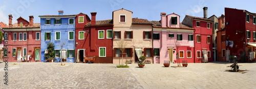 Fotografia Panoramique sur l'île de Burano - Venise, Italie