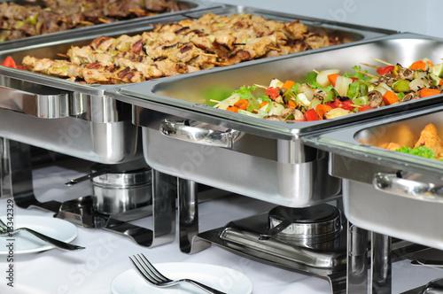 Fotografie, Tablou banquet table