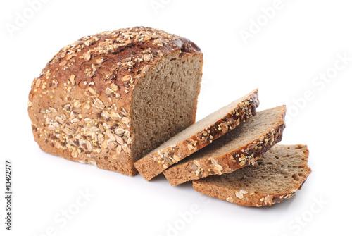 Vászonkép whole wheat bread