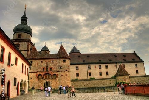 Cuadros en Lienzo Würzburg - Franken / Bayern - Deutschland
