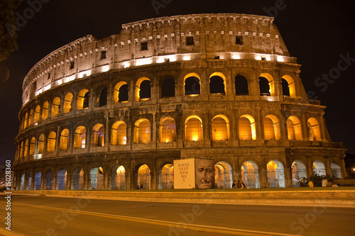 Canvas Coloseum by night