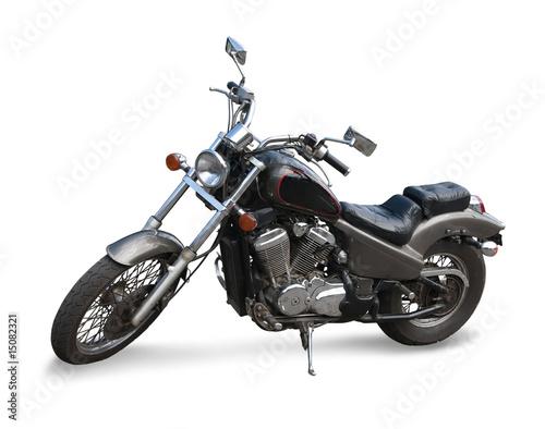 Photo Black  motor cycle