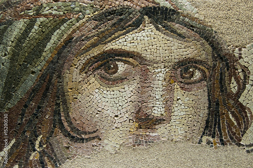 Fototapeta THE GYPSY GIRL (GAIA) Ancient Mosaic