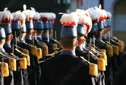 Leinwand Poster soldats français