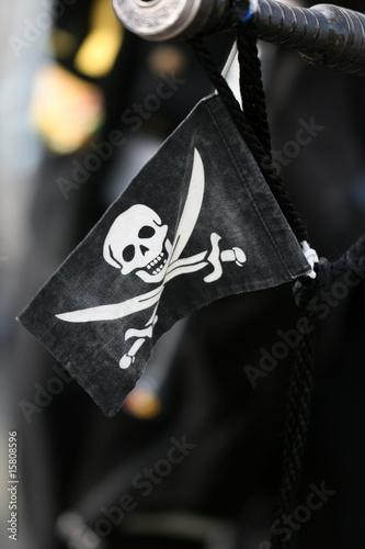 Fotografia drapeau de pirate
