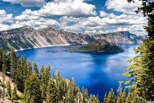 Valokuvatapetti Crater Lake