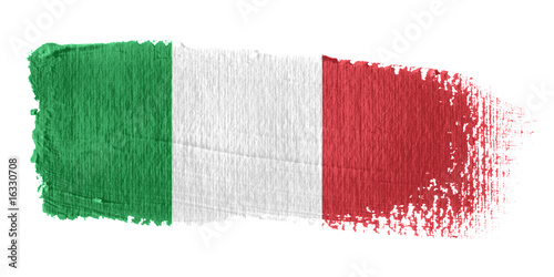 Flaga Włoch Fototapeta
