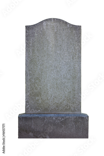 Valokuva Blank gravestone