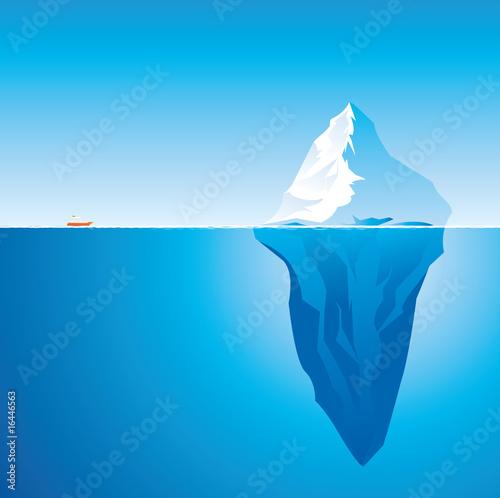 Fotografie, Tablou Iceberg