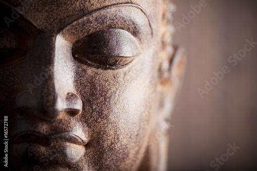 Statue de bouddha Poster Mural XXL