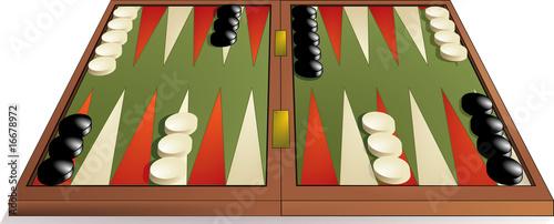 Fotografia, Obraz Backgammon