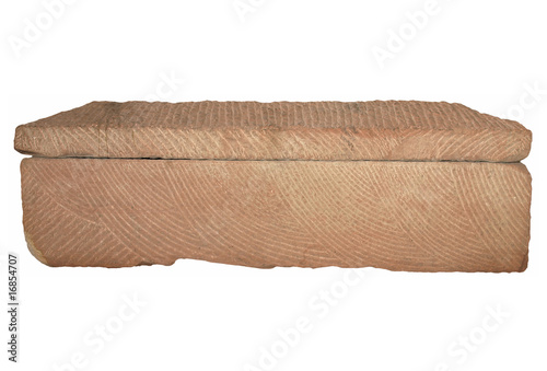 Obraz na płótnie Roman sarcophagus isolated