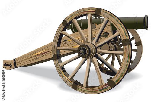 Obraz na płótnie Cannon