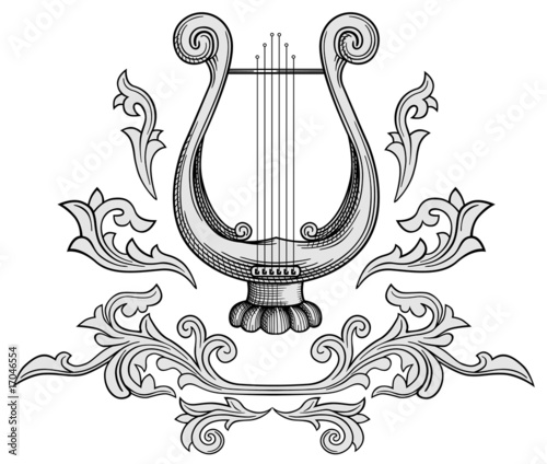 Valokuva Harp vector