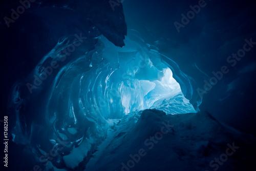 Fototapeta Ice cave