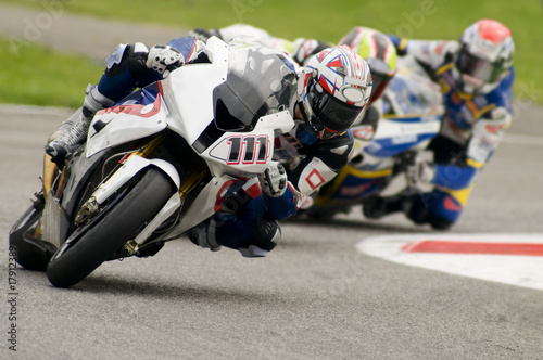 Photo moto gara superbike