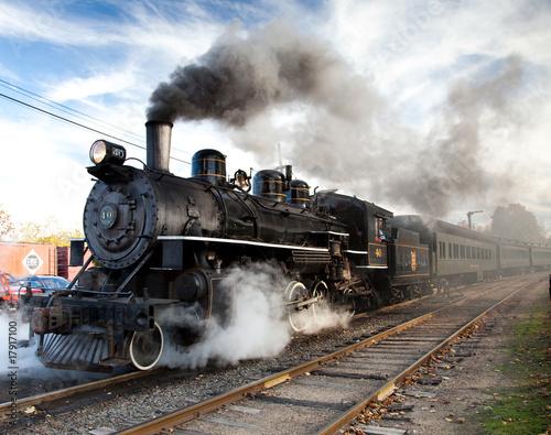 Obraz na plátně Essex Steam Train