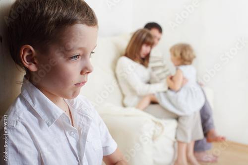Photo Children's jealousy