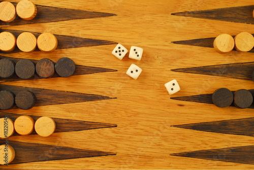 Carta da parati Backgammon