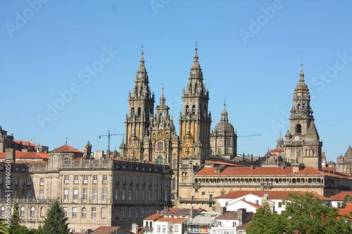 Photo Panoramic Santiago de Compostela, Spain