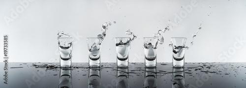 Obraz na płótnie shot of alcohol, vodka Russian