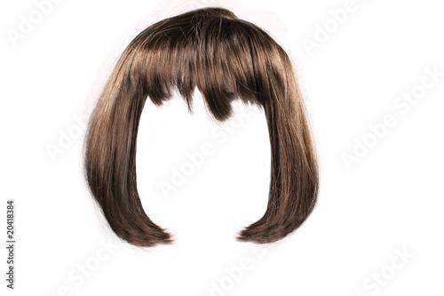 brown  hair Fototapeta