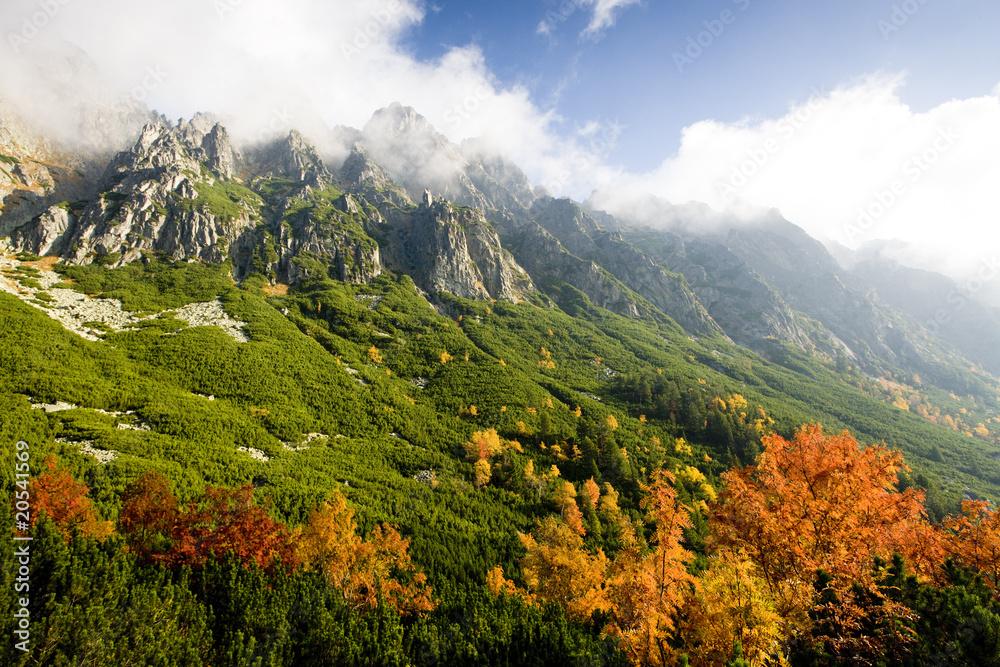 Wielka Zimna Dolina, Wysokie Tatry (Wysokie Tatry), Słowacja <span>plik: #20541569   autor: Richard Semik</span>