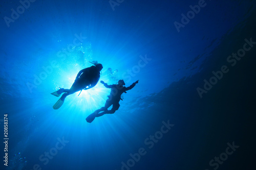 Scuba Diving Fototapet