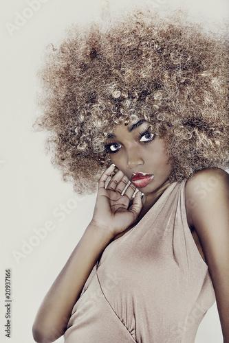 Fototapeta premium Model Glamour Hair