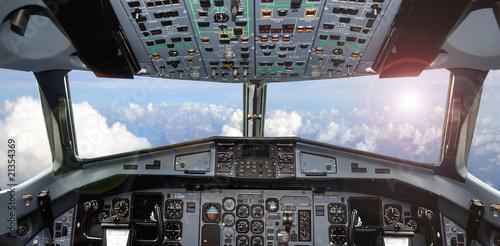 Tablou Canvas cockpit