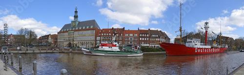 Canvastavla Emden