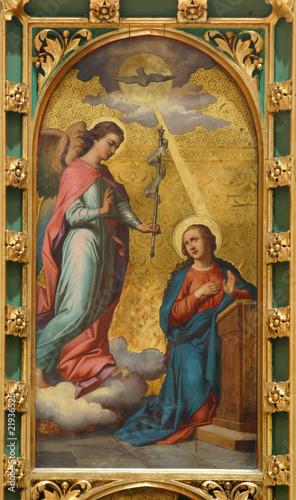 Canvas Print The Annunciation