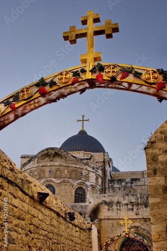 Fotografia Church of the Holy Sepulchre in Jerusalem, Israel