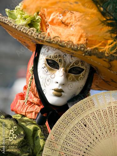 Fotografie, Obraz Venitian Carnival in Paris
