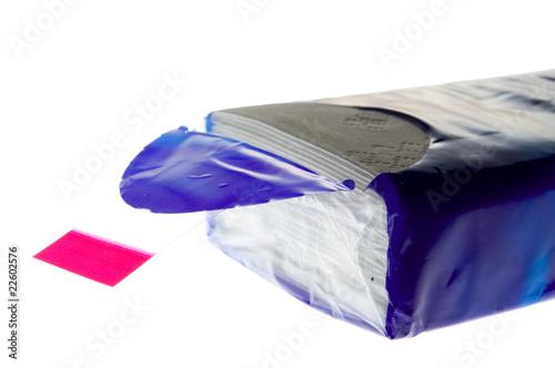 Leinwand Poster Taschentuch