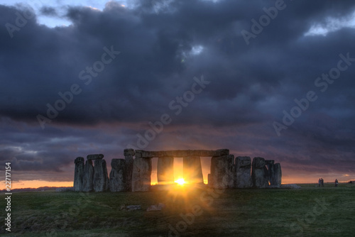 Fotografie, Obraz Stonehenge
