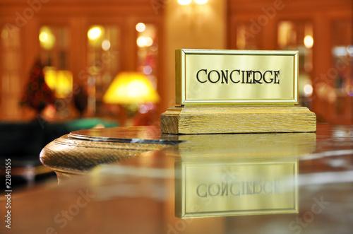 Obraz na plátně Concierge desk #1
