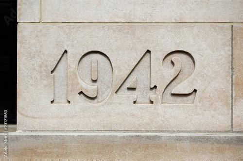 Photo 1942 cornerstone