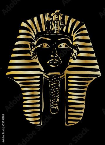 golden pharaoh vector #23291383