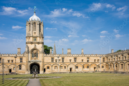 Stampa su Tela Christ Church's Tom Tower, Oxford University