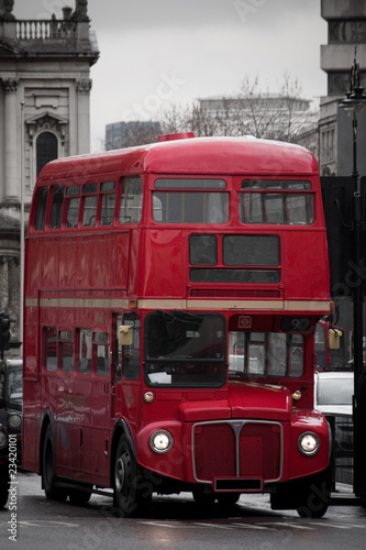 Canvas Print Routemaster in London